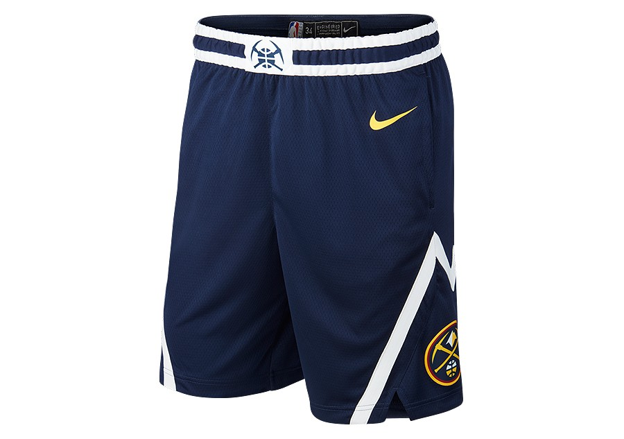 buy popular fab0e a2eac NIKE NBA DENVER NUGGETS SWINGMAN ROAD SHORTS COLLEGE NAVY ...