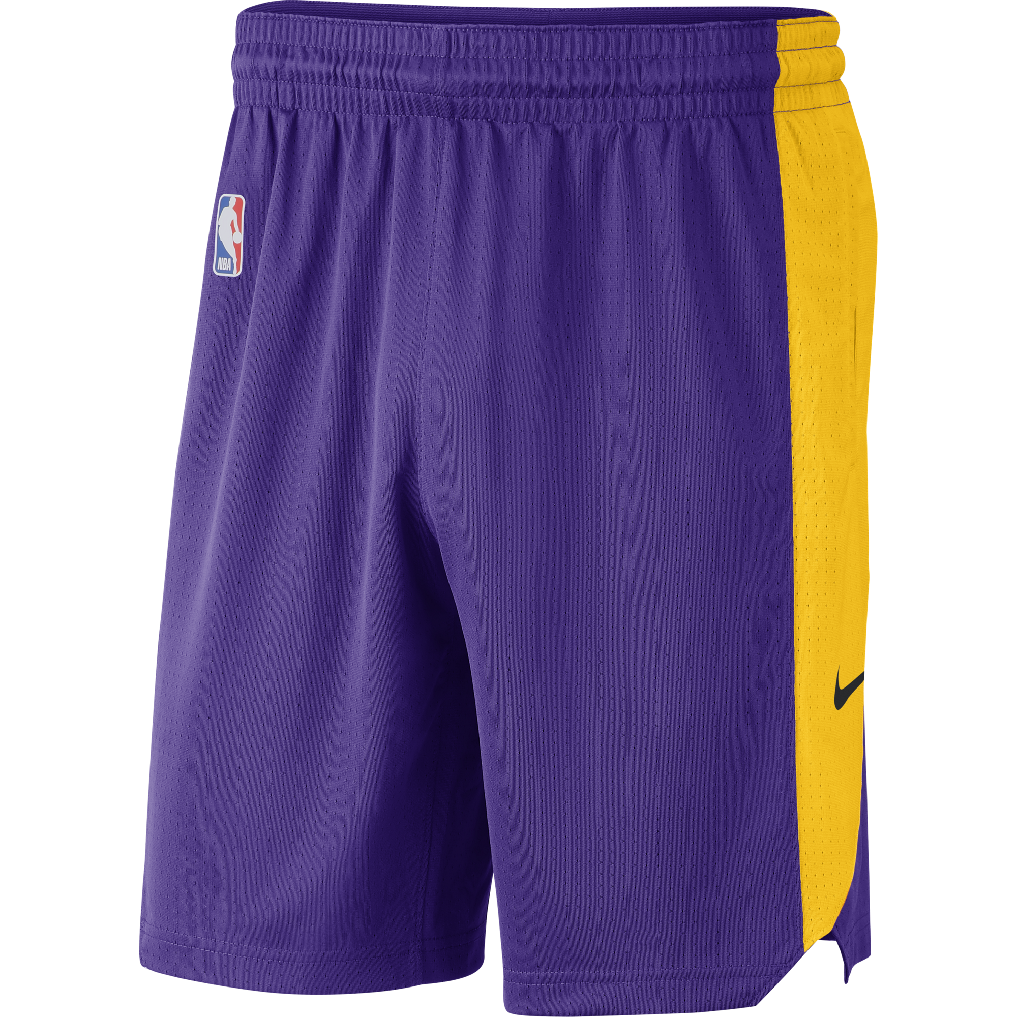 NIKE NBA LOS ANGELES LAKERS PRACTICE SHORTS