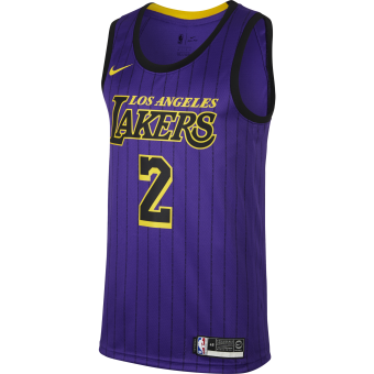 NIKE NBA LOS ANGELES LAKERS LONZO BALL SWINGMAN JERSEY
