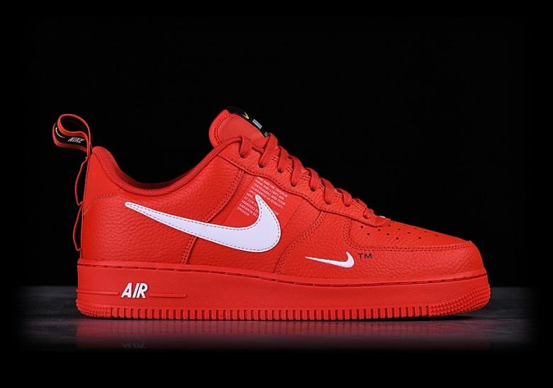 Nike Air Force 1 '07 LV8 Mid Utility rot 45 neu