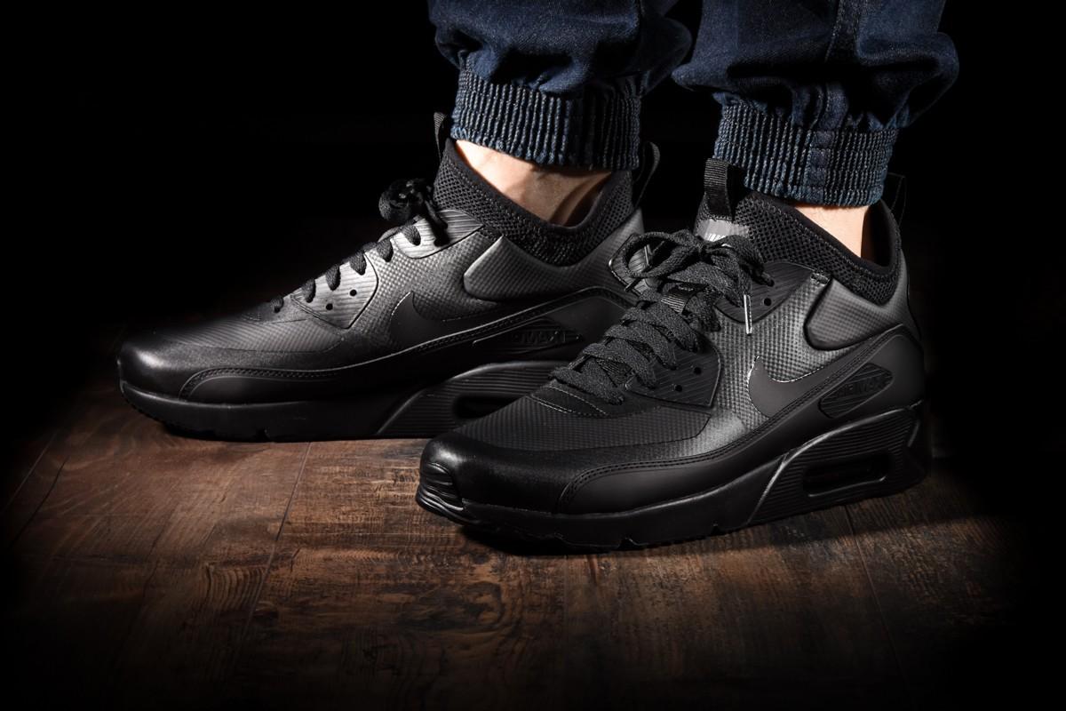 Nike Schuhe Air Max 90 Ultra Mid Winter 924458 004 Black