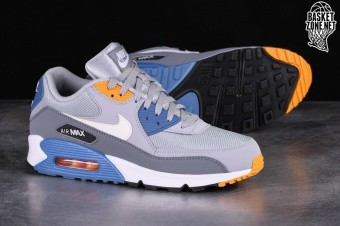 the latest 4e5c5 2f0df NIKE AIR MAX 90 ESSENTIAL WOLF GREY
