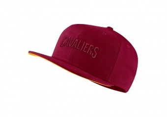NIKE NBA CLEVELAND CAVALIERS AEROBILL PRO CAP TEAM RED