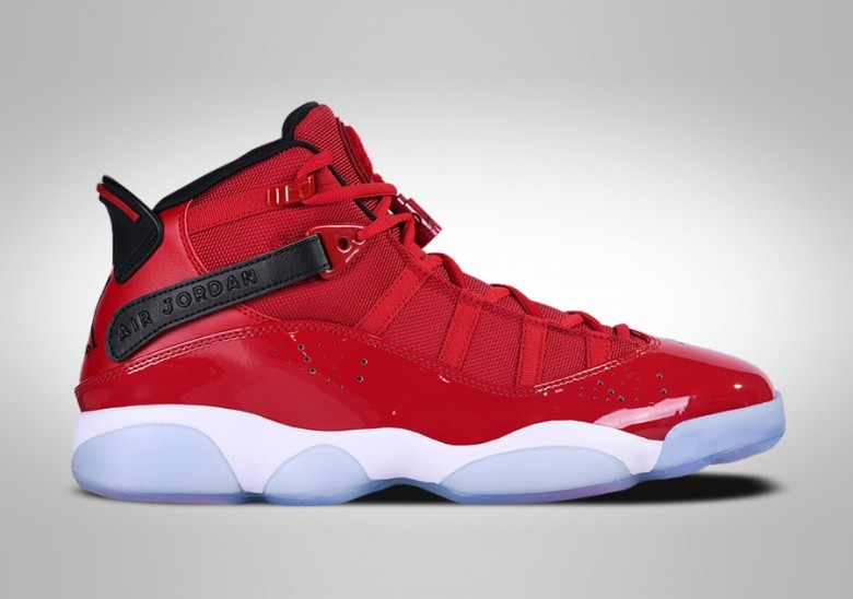NIKE AIR JORDAN 6 RINGS GYM RED