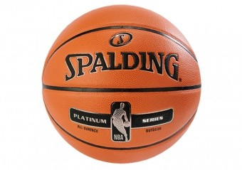 SPALDING NBA PLATINUM STREETBALL OUTDOOR (SIZE 7) ORANGE