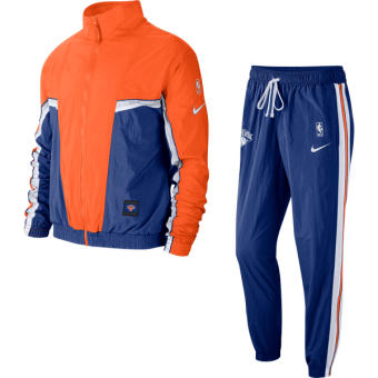 NIKE NBA NEW YORK KNICKS COURTSIDE TRACKSUIT