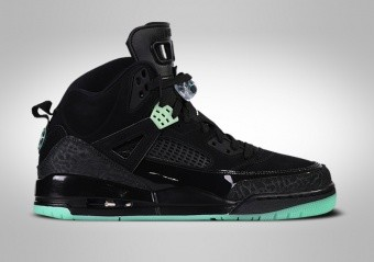 NIKE AIR JORDAN SPIZIKE BLACK GREEN GLOW