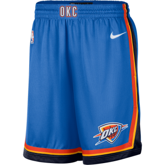 NIKE NBA OKLAHOMA CITY THUNDER SWINGMAN SHORT ROAD