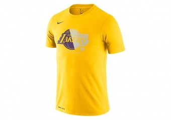 NIKE NBA LOS ANGELES LAKERS LOGO Dri-FIT TEE AMARILLO