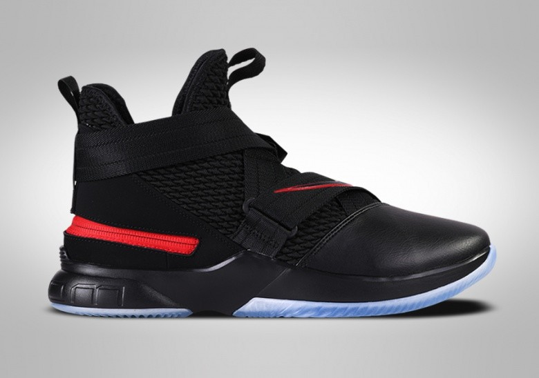 NIKE LEBRON SOLDIER 12 FLYEASE BRED 4E (EXTRA-WIDE)