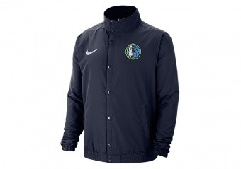 NIKE NBA DALLAS MAVERICKS LIGHTWEIGHT JACKET COLLEGE NAVY