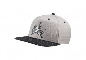 NIKE AIR JORDAN PRO JUMPMAN CLASSICS CEMENT HAT ATMOSPHERE GREY