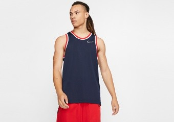 NIKE DRI-FIT CLASSIC JERSEY COLLEGE NAVY