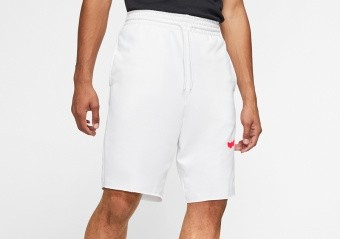NIKE AIR JORDAN JUMPMAN LOGO SHORT WHITE