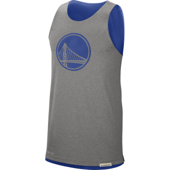 NIKE NBA GOLDEN STATE WARRIORS STANDARD ISSUE REVERSIBLE TANK