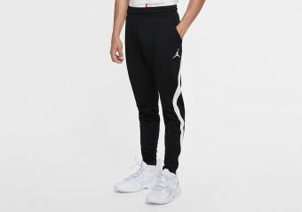 NIKE AIR JORDAN DRI-FIT AIR KNIT PANTS BLACK