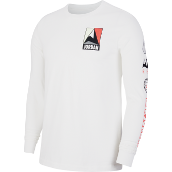 JORDAN WINTER UTILITY MOUNTAINSIDE LONG-SLEEVE CREW TEE