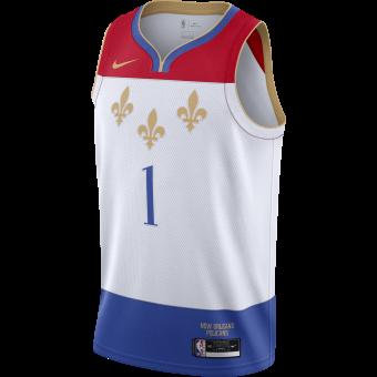 NIKE NBA NEW ORLEANS PELICANS CITY EDITION SWINGMAN JERSEY