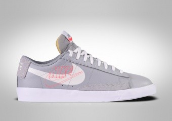 NIKE BLAZER LOW RETRO BASKETBALL WOLF GREY