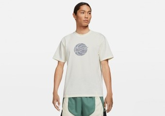 NIKE MOVE 2 ZERO BASKETBALL TEE PURE
