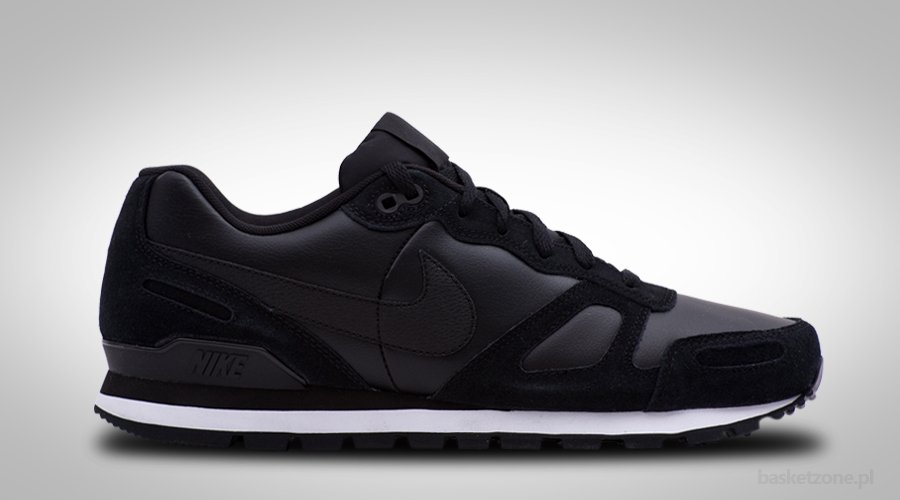 best sneakers 62f05 3706f NIKE AIR WAFFLE TRAINER LEATHER BLACK per €82,50  Basketzone