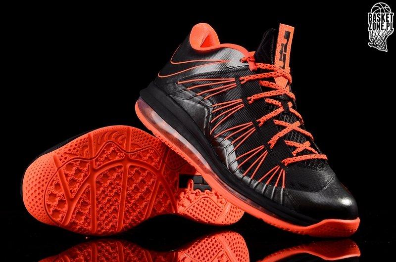 Hot Sale Cheap Nike Air Max Lebron X Low Black Total Crimson 579