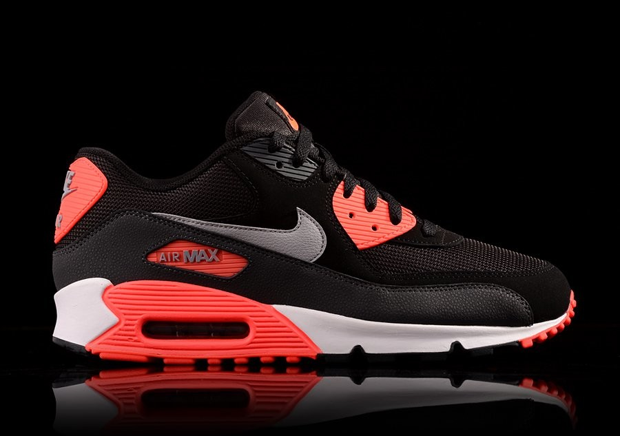 NIKE AIR MAX 90 ESSENTIAL INFRARED BLACK