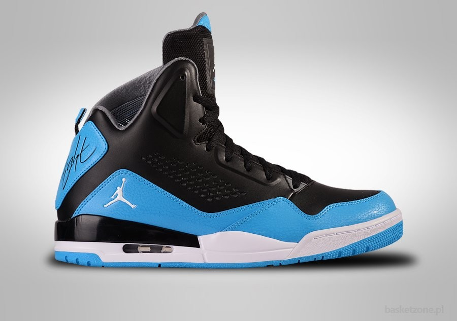 NIKE AIR JORDAN SC-3 BLACK POWDER BLUE