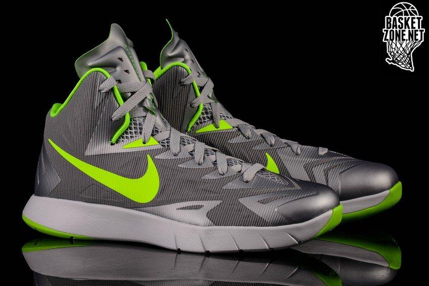 reputable site 434ea 57162 Nike HYPERQUICKNESS Lunarlon BasketBall Shoes Black High Tops Men s Size  10.5