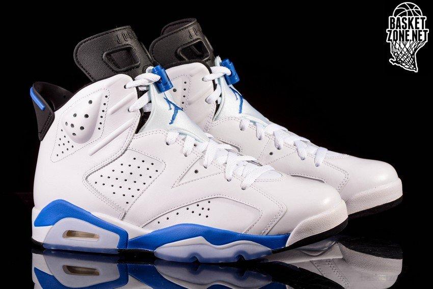 hot sale online 9687b 7670f ... italy nike air jordan 6 retro sport blue 313df 60252