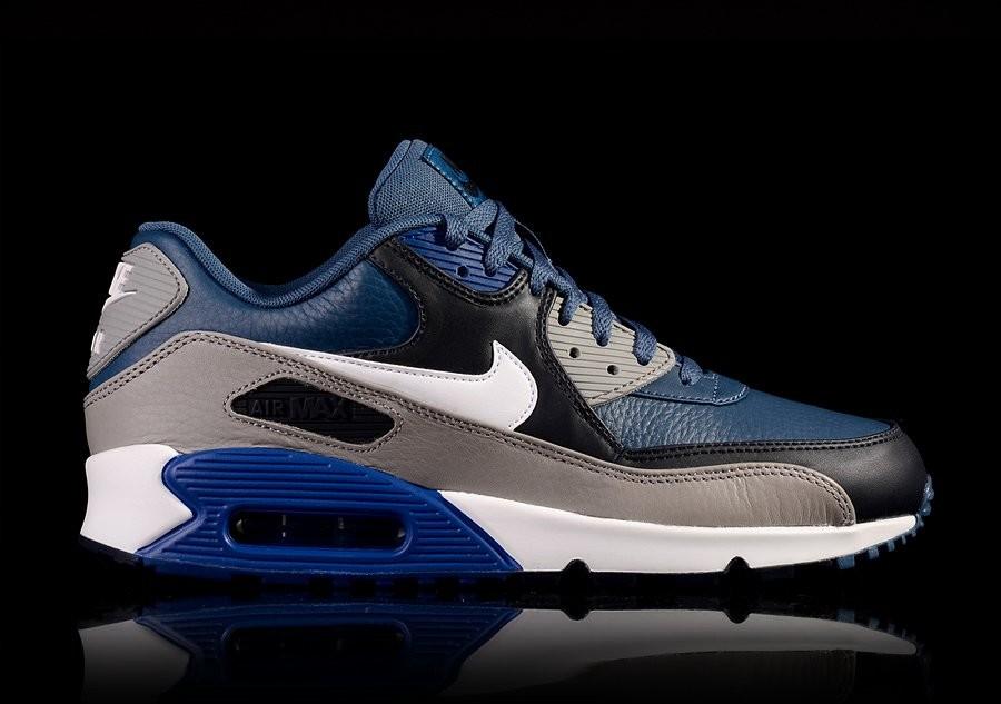 NIKE AIR MAX 90 LEATHER GYM BLUE