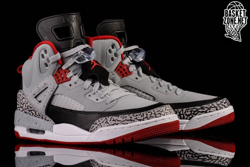 NIKE AIR JORDAN SPIZIKE WOLF GREY GYM RED CEMENT price €152.50 ... 6117cb985