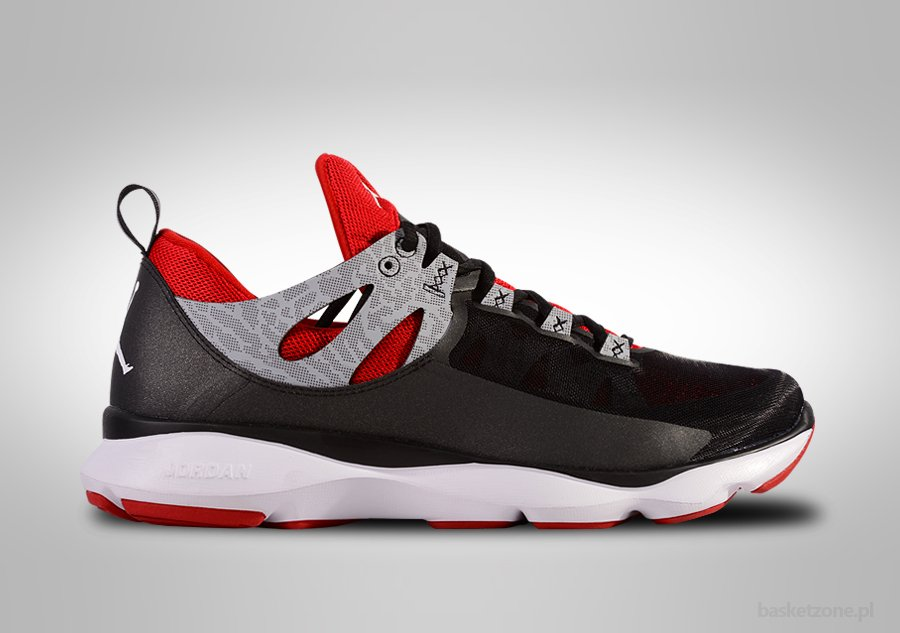 Nike Air Jordan Flight Runner Black Red Per 89 00