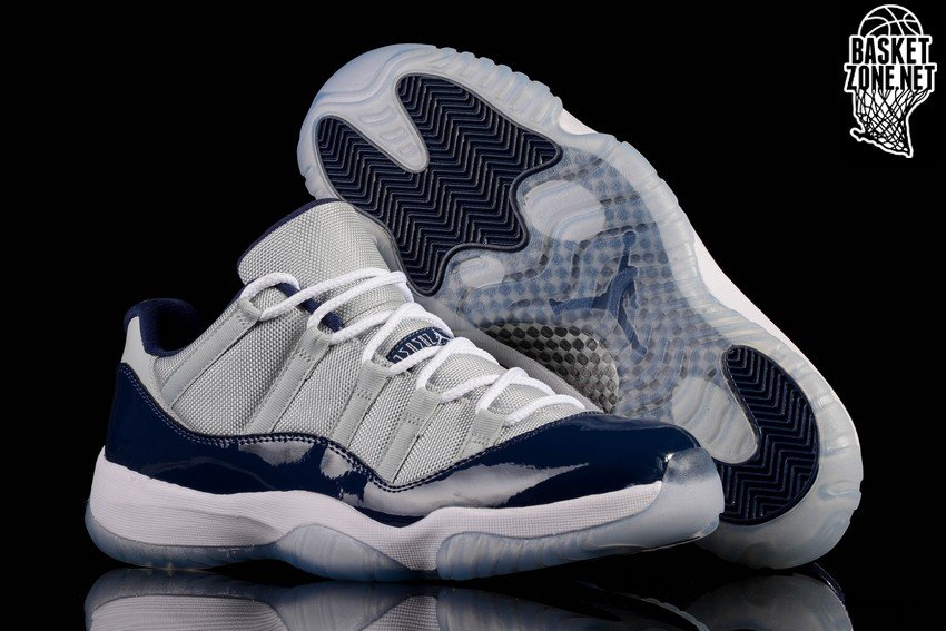2de4fa39ee163 NIKE AIR JORDAN 11 RETRO LOW GEORGETOWN pour €207,50   Basketzone.net