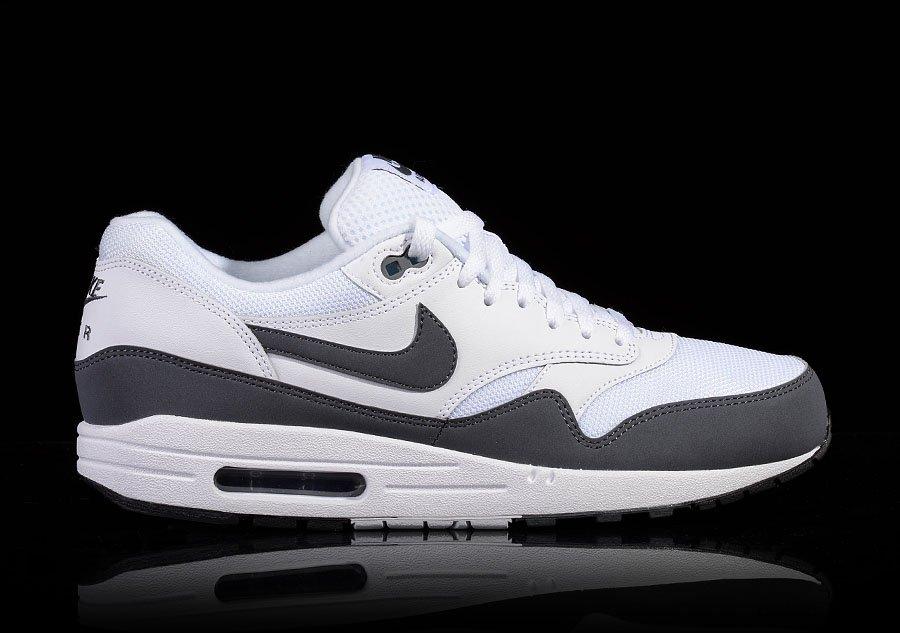 Nike Air Max 1 Essential White Dark Grey | Footshop