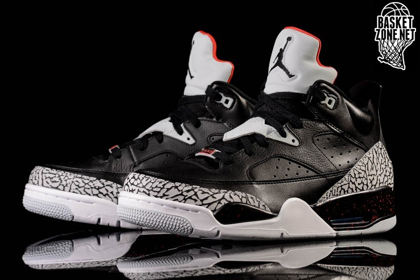on sale cc26f c542e norway nike air jordan son of low black cement 7cff5 5e06c